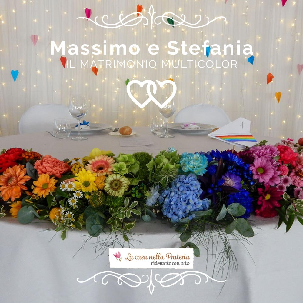 Matrimonio multicolor